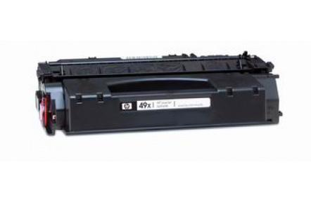 Kompatibilní toner HP Q5949X +CHIP černý ,6000stran , Q5949 X , Q 5949X,CRG 708, CRG708