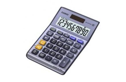 Kalkulačka CASIO MS 100 TER II