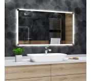 Koupelnové zrcadlo s LED podsvětlením 60x40 cm RYGA