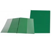 Desky SPORO boční kapsy zelená A4 desky plastové