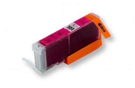 Canon CLI-551 M ,12ml červená kompatibilní kazeta vč.CHIPU, Canon PIXMA iP7250 MG5450 MG6350