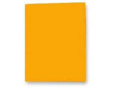 Mapa odkládací bez klop prešpanová oranžová 1ks, prešpanové desky