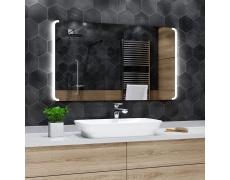 Koupelnové zrcadlo s LED podsvícením 120x60 cm SEATTLE