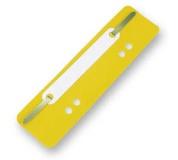 Úchytky do rychlovazače PVC žluté 25ks, rychlovazací pérko