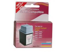 HP 51649 barevná,kompatibil,23ml, NEW COMPATIBLE