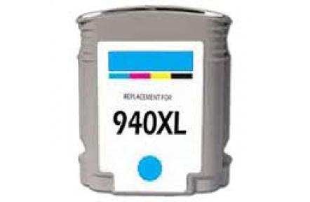 HP C4907A 940XL modrá 31ml 100% NEW kompatibilní kazeta C4907 A, C 4907, 940 XL