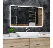 Koupelnové zrcadlo s LED podsvětlením 80x70 cm OSAKA