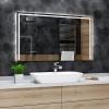 Koupelnové zrcadlo s LED podsvícením 60x80cm SYDNEY