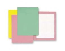 Mapa odkládací bez klop classic růžová, papírové desky 1ks