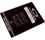 Uhlový papír A4 černý  CONCORDE