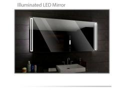 Koupelnové zrcadlo s LED podsvícením 120x70 cm ROMA