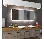 Koupelnové zrcadlo s LED podsvětlením 70x70 cm OSAKA