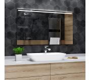 Koupelnové zrcadlo s LED osvětlením 90x70cm GIZA H