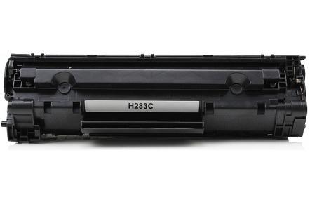 HP CF283A, černý (83A) , kompatibilní toner CF-283A, CF283