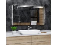 Koupelnové zrcadlo s LED podsvětlením 150x70cm SYDNEY