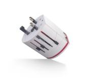 Cestovní adaptér pro mnoho zemí  s USB Forever MA-100