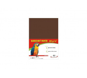 Barevné papíry A3 80g 100ls hnědé