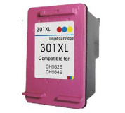 HP CH564 č..301XL color 19ml ,100% NEW kompatibilní kazeta , CH564 XL , CH564 , 301 XL ,