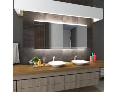 Koupelnové zrcadlo s LED podsvícením 180x90 cm SEOUL