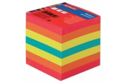 Kostka papírová barevná lepená 700, špalíček papírový, bloček HERLITZ