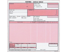 Faktura daňový doklad 20x21cm NCR OP74