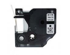 DYMO páska D1 43613 6mm x 7m černo/bílá kompatibilní páska