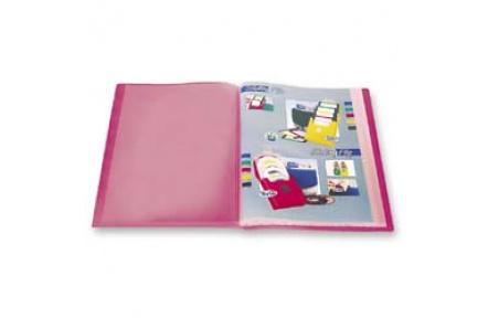 Katalogová kniha 20 listů červená