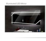 Koupelnové zrcadlo s LED podsvětlením 120x70 cm MIAMI
