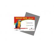 Barevné papíry A4 80g 100ls šedé