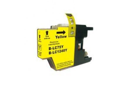 Brother LC1240 žlutá 17ml 100%NEW kompatibilní inkoustová kazeta LC 1240,LC-1240,PRINT IT Brother LC-1240 Yellow