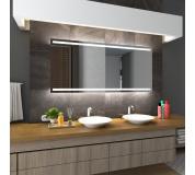 Koupelnové zrcadlo s LED podsvětlením 83x86cm DENVER
