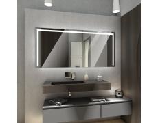 Koupelnové zrcadlo s LED podsvětlením 122,5x93cm SYDNEY