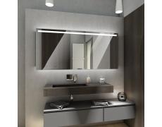 Koupelnové zrcadlo s LED podsvětlením 134x80cm GIZA
