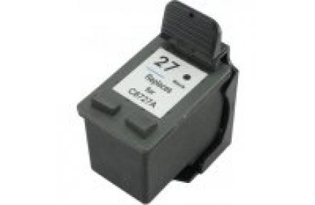 HP C8727 č.27 černá, kompatibilní ,reman.KAPRINT 23ml , C 8727