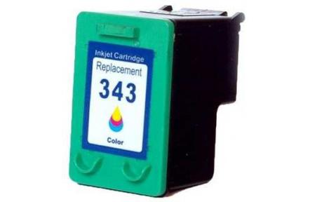 HP C8766 č.343 barevná,100% NEW 22ml,kompatibilní kazeta ,22ml  C 8766, C-8766, HP C8766EE, č.343, barevná