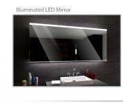 Koupelnové zrcadlo s LED podsvícením 120x70 cm SEOUL