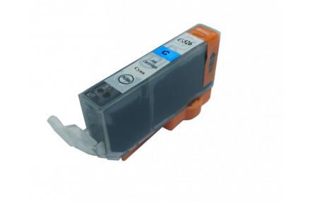 Canon CLI526 C modrá PIGMENT S CHIPEM, 11 ml, kompatibilní kazeta cli 526, cli-526,Canon CLI-526C modrá barva