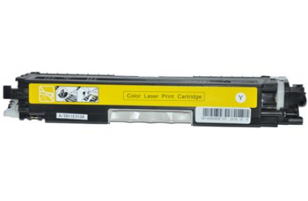 HP CE312A žlutá,100% NEW kompatibilní toner 126A , 1000stran , Kompatibilní toner HP CE312A, 126A, yelow, KA print CE312 A , CE 312 A , HP126A , HP 126A