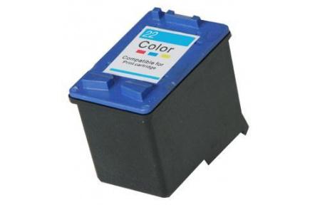 HP C9352  barevná,kompatibilní kazeta č.22 , 17ml  , C 9352  ,C-9352