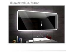 Koupelnové zrcadlo s LED podsvětlením 140x75 cm OSAKA