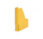 Pořadač na časopisy plastový žlutý