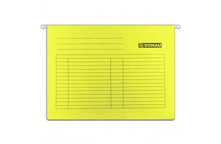 Závěsné zakládací desky DONAU žluté
