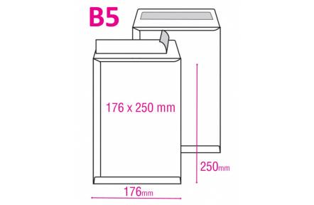 Obchodní taška B5 plochá 25ks
