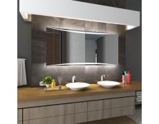 Koupelnové zrcadlo s LED podsvětlením 80x70 cm WILNO