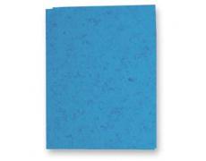 Mapa odkládací bez klop prešpanová modrá 1ks prešpanové desky
