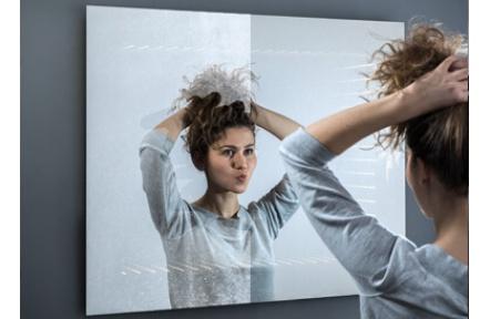 Anti-pára k LED zrcadlu I rozměr typ ALAS