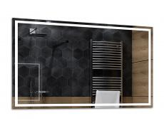 Koupelnové zrcadlo 135x80 cm ATLANTA pouze obestavba bez led a bez trafa
