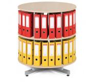 Archivační otočná skříň, přídavné patro pro archivační skříň - bříza