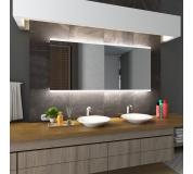 Koupelnové zrcadlo s LED podsvětlením 128x128 cm BRASIL