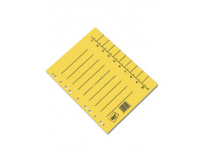 Rozlišovač A4 odstřihávací žlutý 100ks